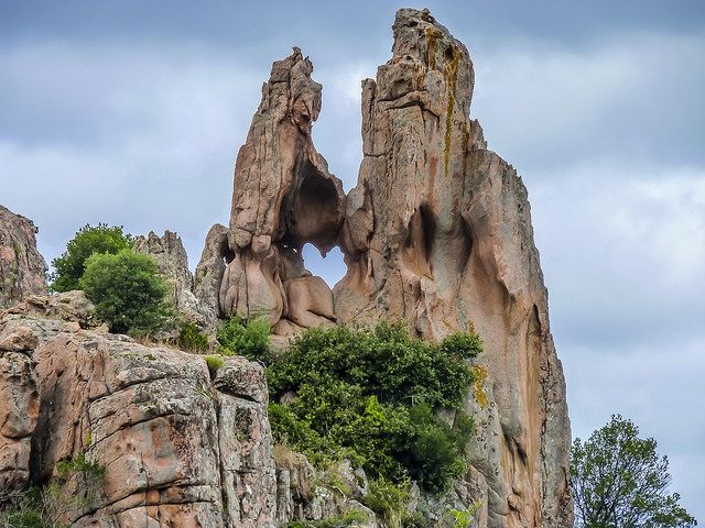 vacance corse calanche cliffs