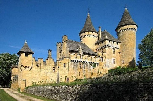 vacance dordogne chateau puymartin
