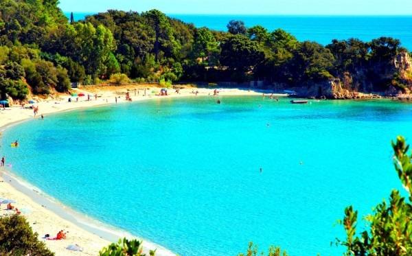 vacance plage corse