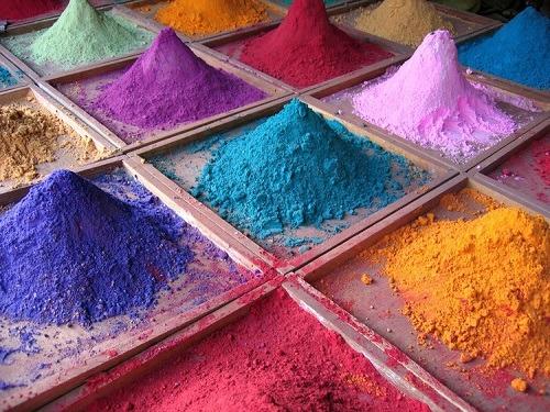 art tableau sable colore