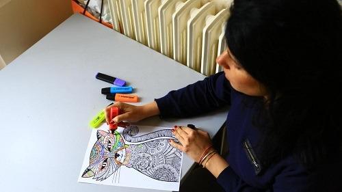 art therapie coloriage