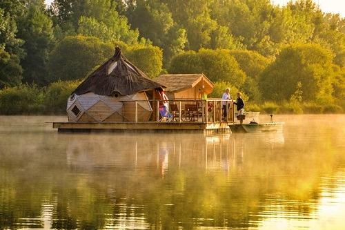 camping LE VILLAGE FLOTTANT DE PRESSAC