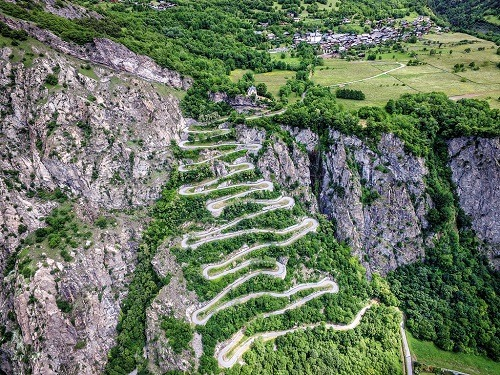 loisirs road trip route grand alpes
