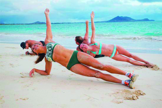 Beach fit bootcamp