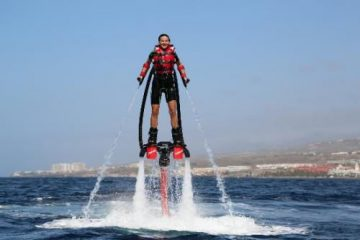 Fly-board à Palavas-les-Flots