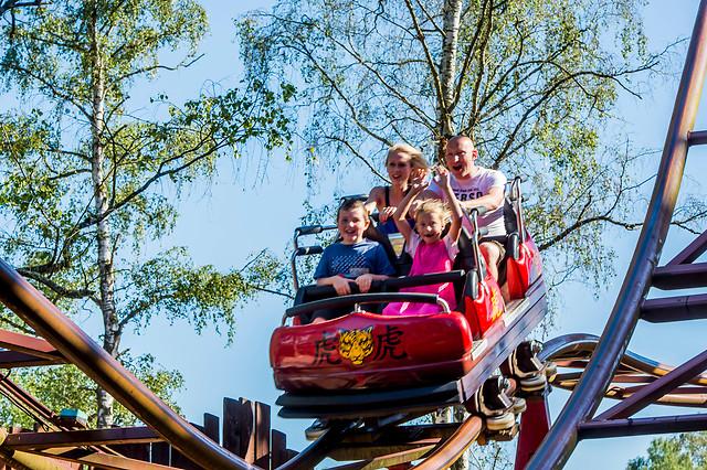 séjour spécial famille dans un parc d'attraction