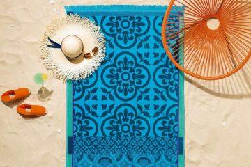 Une serviette de plage